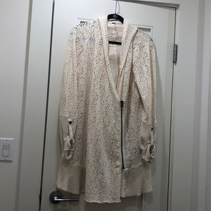 Free People Ivory Cardigan